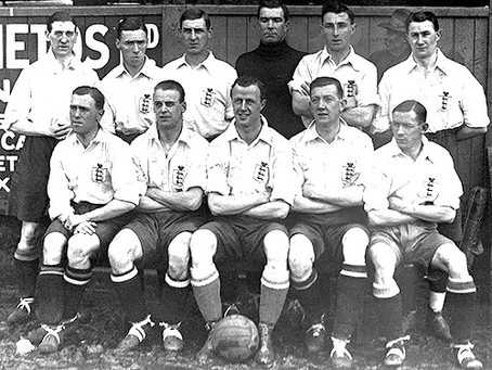 The Cuckfield man who played football for England (and cricket for Sussex)!