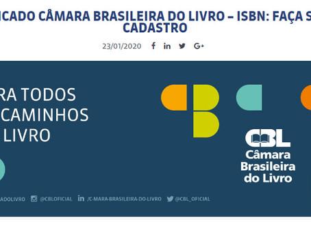 Câmara Brasileira do Livro (CBL) passará a emitir ISBN no Brasil