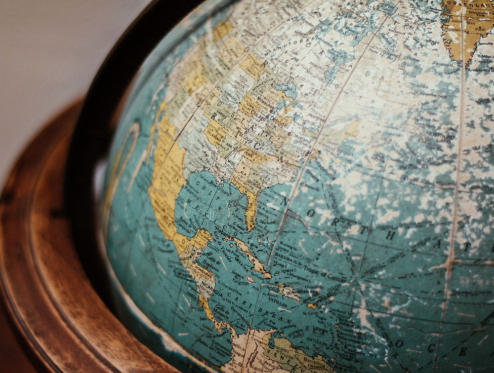 Picture of a globe