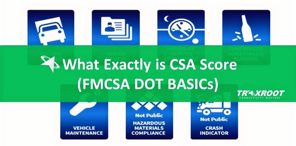 What Exactly is CSA Score (FMCSA DOT BASICs)