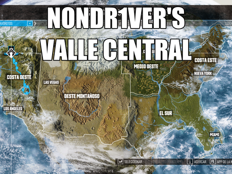 RUTA DCL   NONDR1VER'S VALLE CENTRAL (G5864HR)