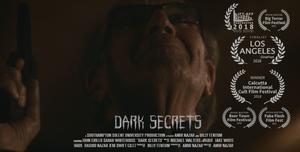 Dark Secrets short film poster