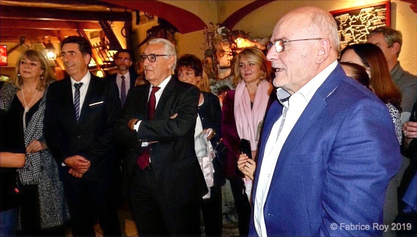 Martine Médecin, Charles-Ange Ginesy, Jacques Peyrat, Théo Mansi
