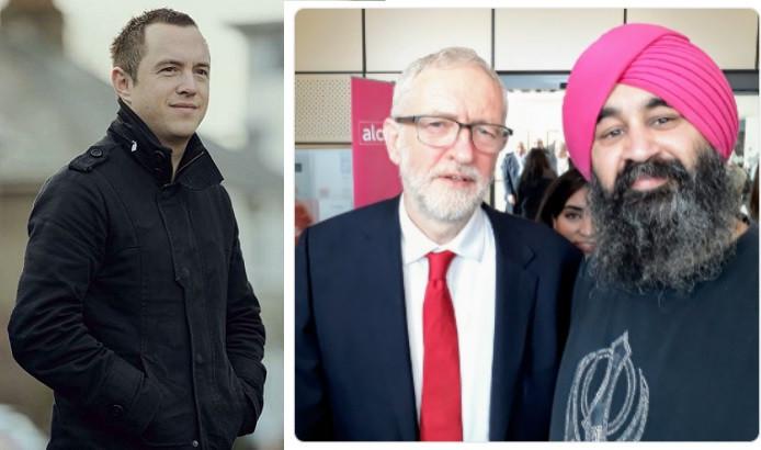 Steve Ricketts, Jeremy Corbyn, Chaz Singh