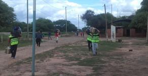 Se profundiza el trabajo comunitario en Apolinario Saravia