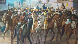 Khalsa entering battle