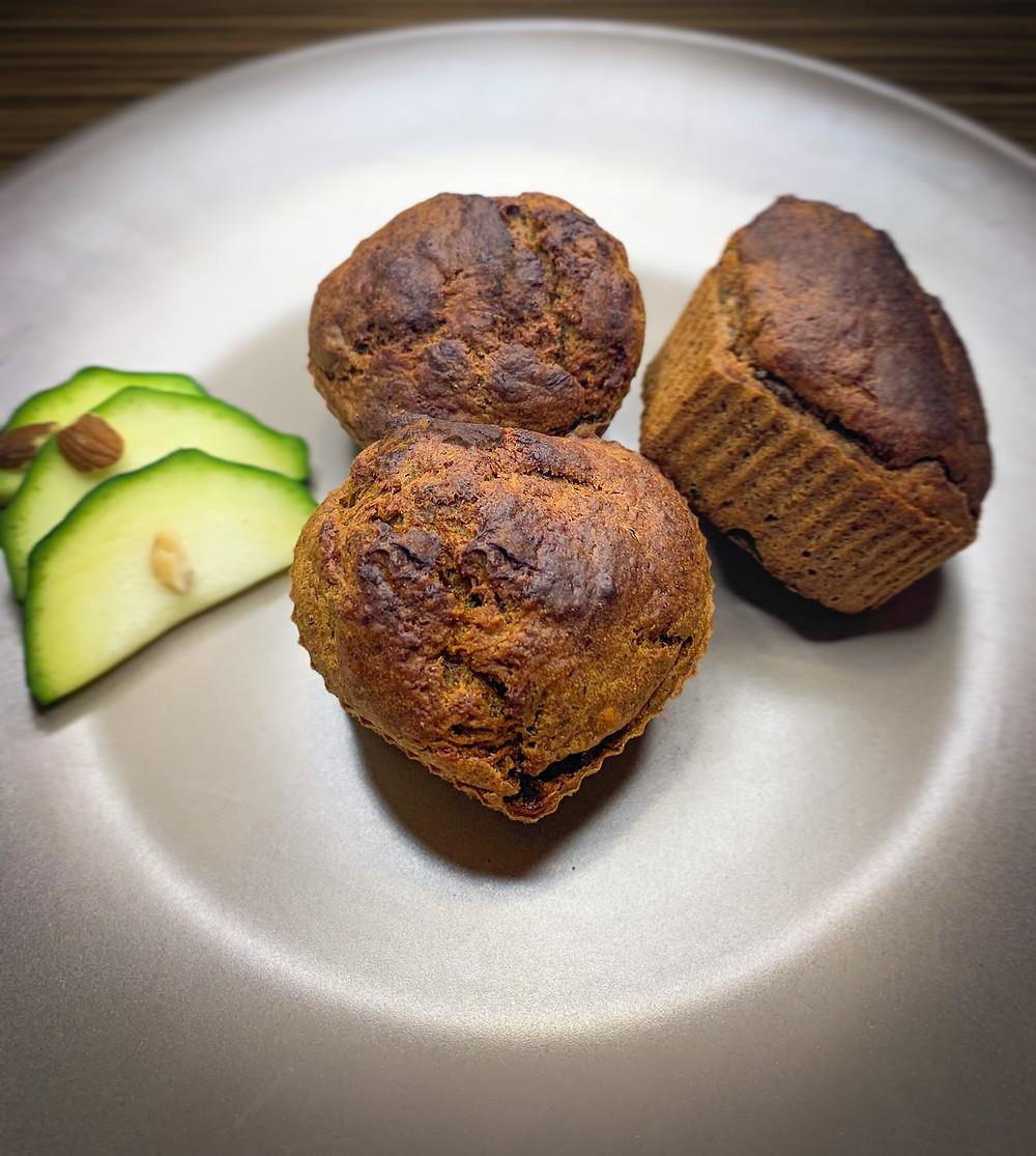 Muffins de zapallo italiano - Nutricionista Online Karina Herrera
