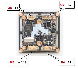 AHD-XM330V200. Модульная AHD камера 2мП 1080P Full HD