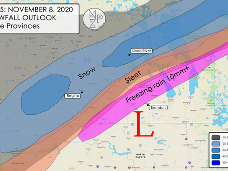 Heavy snow, sleet/ice accumulation and power outages ahead for Prairies