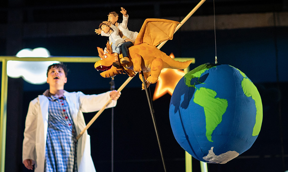 Zog - Live on Stage is based on a much-loved 2010 children's picture book. Pics: Helen Maybanks