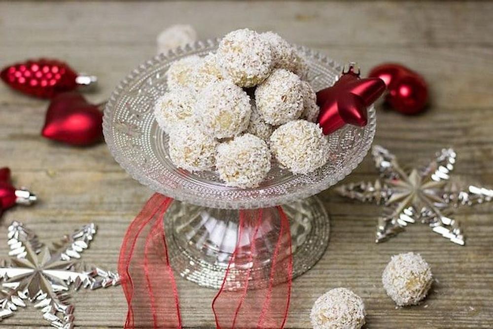 Domácí raffaello - Vánoční cukroví