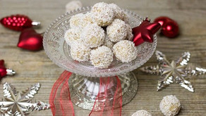 NEpečené kokosové kuličky RAFFAELLO vánoční cukroví