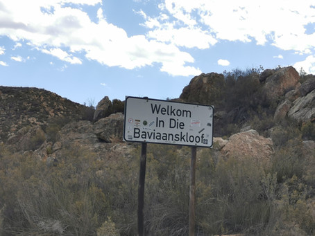 Baviaanskloof, Beauty to be seen through the winding roads.