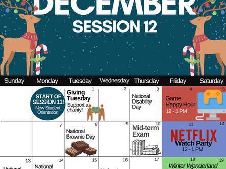 December Events & Activites