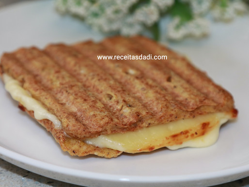 Pãozinho crocante low carb