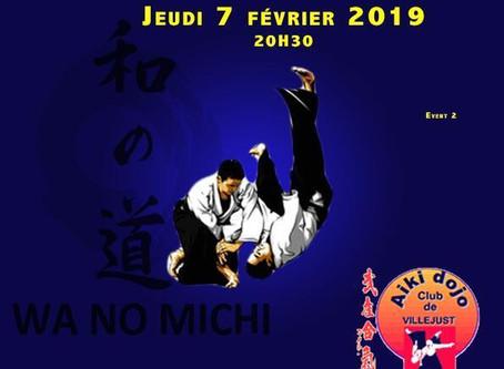 Stage inter-dojos à Villejust le 7 Février
