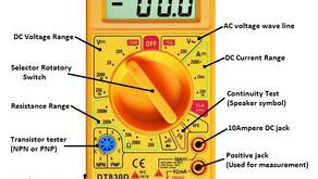 Functions of Digital Multi-Meter