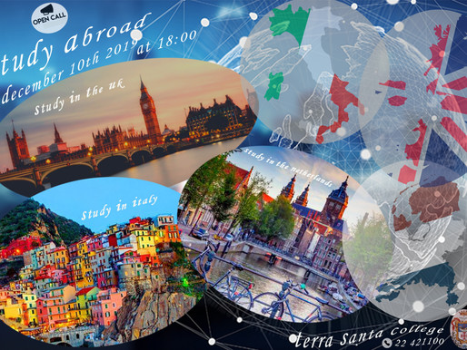 Βραδιά Σπουδών: Αγγλία, Ολλανδία, Ιταλία