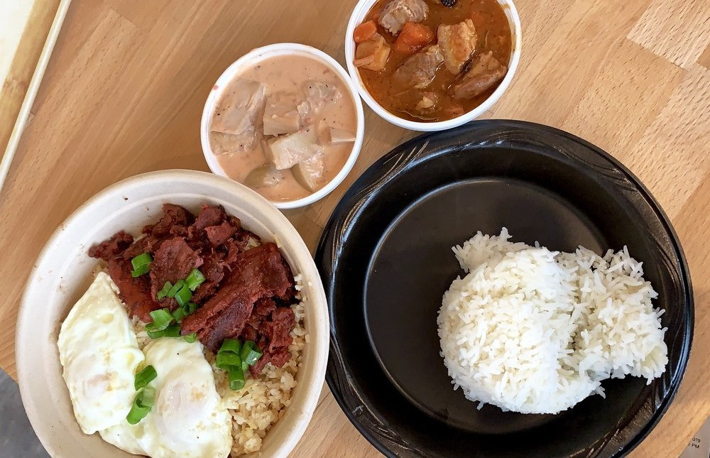 Filipino food from Subo Chicago