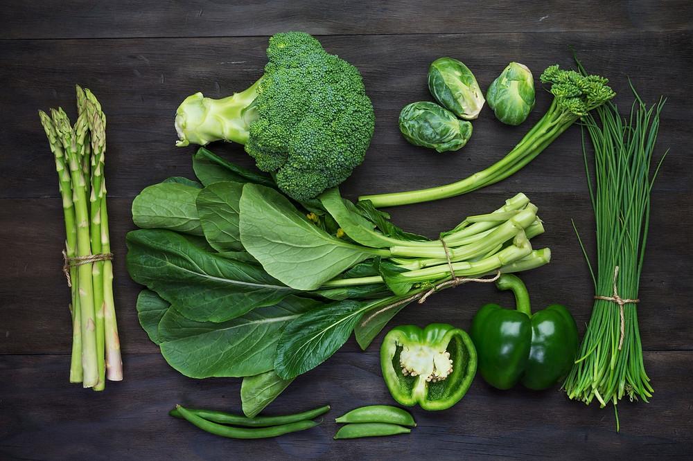 légumes alcalinisants et acifiants