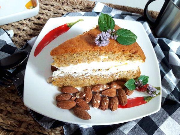 Recept na zdravý mrkvový dort