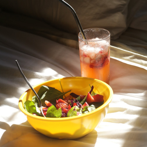 VI'S COOL SUMMER SALAD + DRINK COMBO