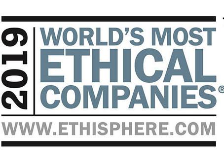 Empresas Afiliadas al CEA en la lista de homenajeados de World' Most Ethical Companies 2019