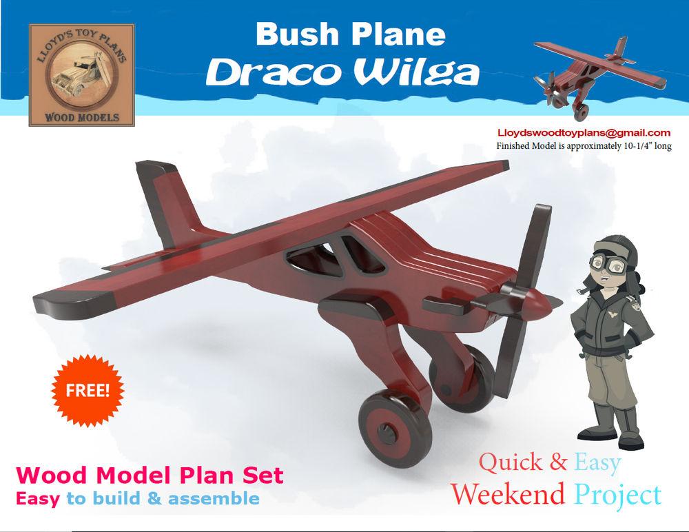 Free plan set Draco Wilga bush plane | Wood Toy Plans Forums