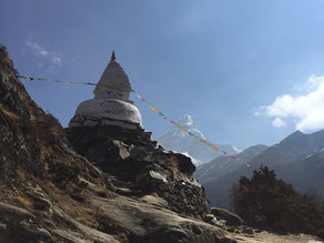 7 years and a 10 day trek to Everest Base Camp