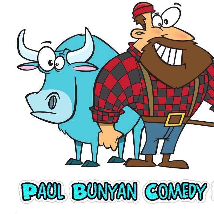 Paul Bunyan Comedy Festival Oxen Logo