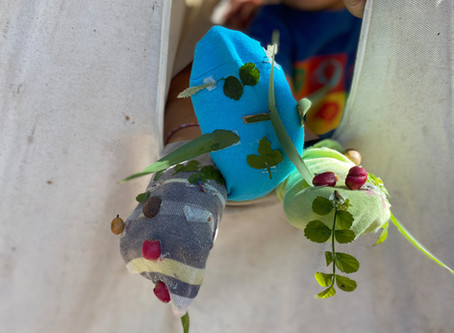 Puppet fun: make your own nature puppets at home
