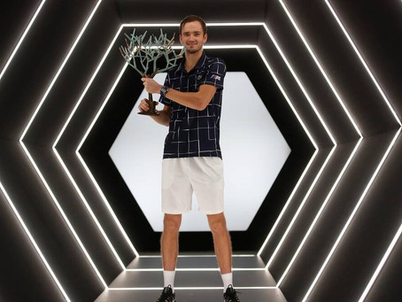 medvedev (rus) wins 8th title in paris