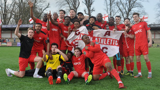 Match report - win over Whyteleafe secures promotion