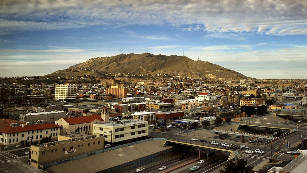 Aerial image of El Paso, TX Real Estate
