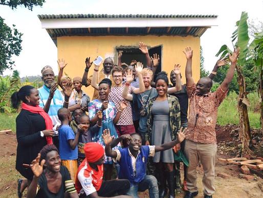 Uganda WC Project Complete!