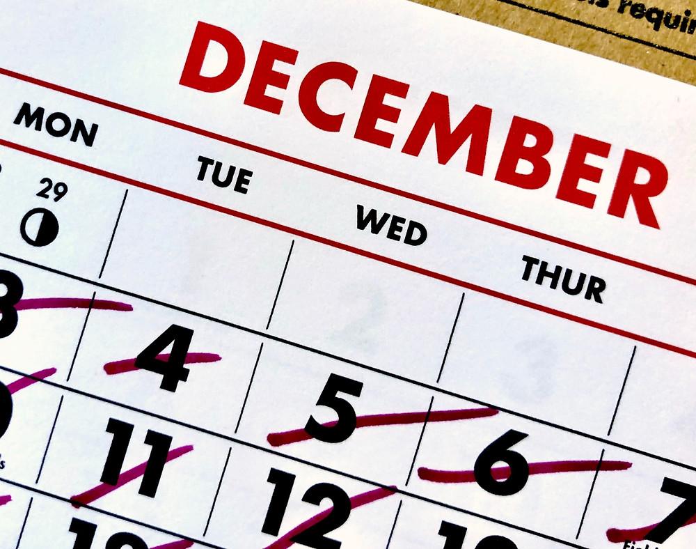 5 Consejos para Bajar de Peso estas Navidades - Planifica las comidas especiales