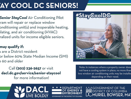 Senior Stay Cool Air Conditioning Pilot Program
