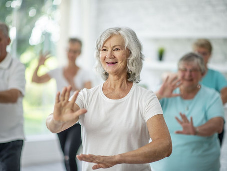 Tai chi could be the secret...
