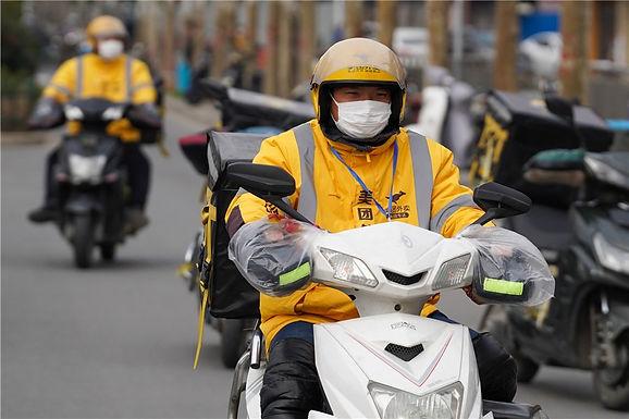บริการส่งอาหารในจีน กำลังขายดีในช่วงวิกฤตไวรัส