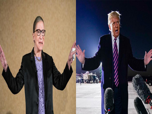 Will Trump Honor RBG's Dying Wish
