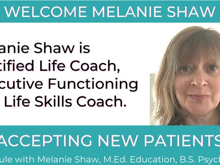 Serenity Counseling and Wellness Center Welcomes Certified Life Coach Melanie Shaw