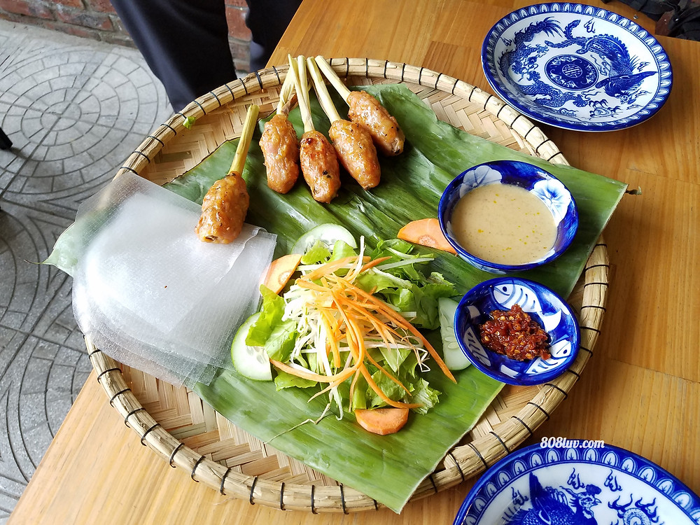 One of the dishes we tried at Madame Thu