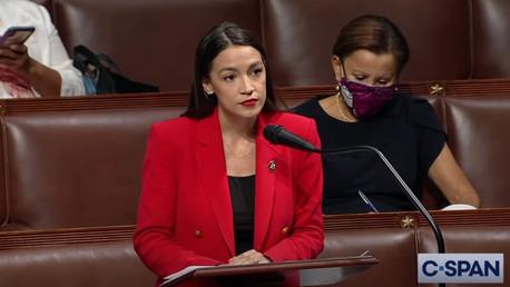 Alexandria Ocasio-Cortez gives powerful speech following sexist remarks from Republican politician