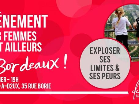 3ème rencontre Femmes ici et ailleurs à Bordeaux.