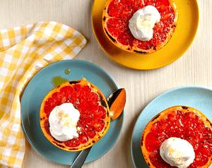 Vánoční Grapefruit na mlsně zdravý způsob