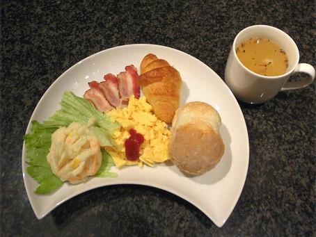 朝食プレート2コインキャンペーン