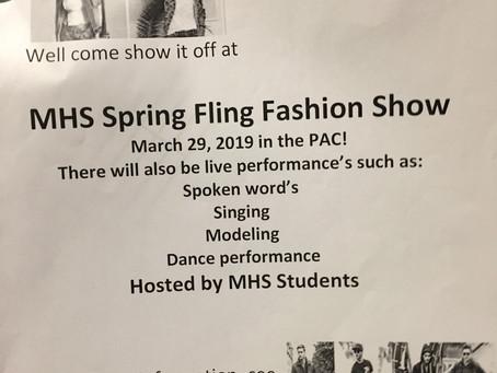 MHS Spring Fling Fashion Show