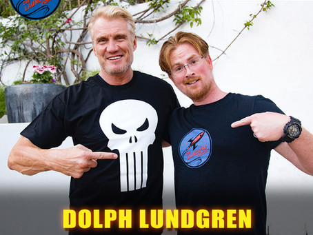 DOLPH LUNDGREN on the LAUNCH PAD PODCAST