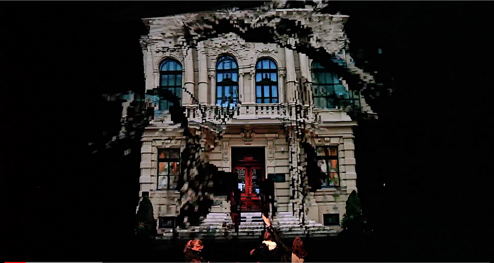 Video Mapping Klaus Obermaier Projection mapping 3D mapping RAIO raiovisual