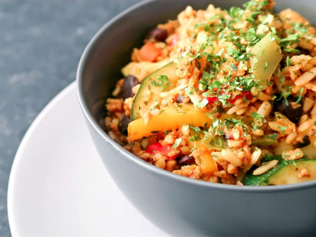 Bring out the spice with this Mexican inspired rice bowl recipe!